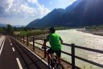 In bici lungo Piave, 220 km nella Storia