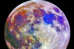 La Luna blu del 20 novembre 2010, fotografata dagli Stati Uniti (fonte: Astroval1)