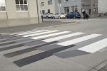 Strisce pedonali colorate davanti a tutte le scuole di Polistena
