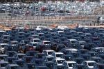 Autovetture pronte per le vendite