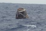 Rientrata la capsula Dragon, a bordo anche topi 'astronauti' (fonte: Nasa)