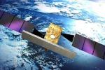 Rappresentazione artistica di un satellite del più grande programma spaziale italiano, la costellazione Cosmo SkyMed per l'osservazione della Terra (fonte: ASI TV)