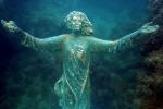 Ritrovata statua del Cristo degli Abissi