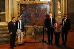Stragi '93, restaurata tela Uffizi