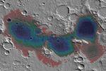 Il bacino Eridania, nell'emisfero Sud di Marte. Qui sono state individuate le tracce di una sorgente idrotermale che 3,7 miliardi di anni avrebbe potuto ospitare forme di vita (fonte: NASA)