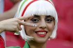 Una fan dell'Iran