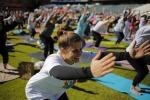 Yoga all'acropoli degli Scavi di Cuma
