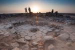Una delle strutture di pietra nelle quali veniva cotto il pane più antico mai scoperto (fonte: Alexis Pantos)