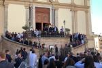 Saluto romano ai funerali dell'onorevole Giardini/Video