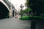 Caduti pezzi dagli archi della Marina, chiusa Villa Pacini
