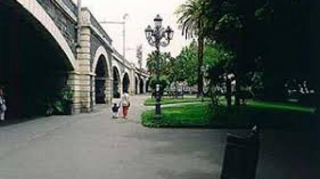 ferrovie dello stato, viadotto, villa Pacini, Sicilia, Archivio