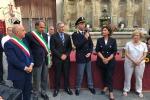 Medaglia d'oro e attestato di civica benemerenza a Daniele Manganaro