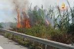 Diversi incendi in Calabria
