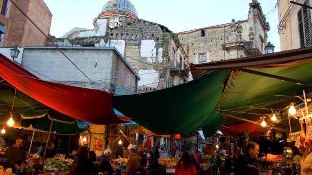 ballarò, carabinieri, droga, mercato, palermo, Sicilia, Archivio