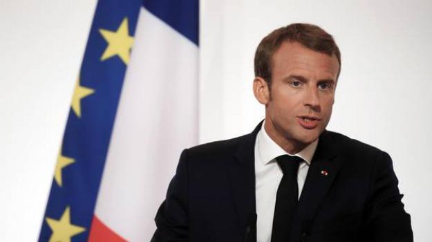 francia attentato macron arresti, Emmanuel Macron, Sicilia, Mondo