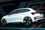 Nello stile della concept Vision RS, che sarà esposta a Parigi, si riconosce la futura hatchback Rapid