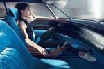 Seppure ispirata alla 504 Coupé del 1969, e-Legend Concept è una modernissima auto a guida automa