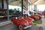 Auto a pedali e tricicli d'epoca, le foto della mostra a Taormina