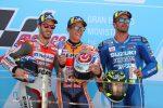 MotoGp, Marquez trionfa ad Aragon davanti a Dovizioso e Iannone