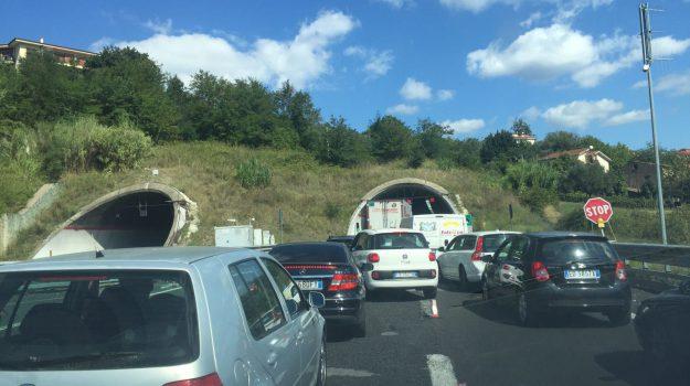 lavori sulla A2 a Cosenza, Cosenza, Calabria, Cronaca