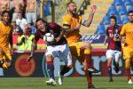 """La Roma """"inciampa"""" a Bologna (2-0), il Milan stecca in casa con l'Atalanta (2-2). Ok Lazio e Udinese"""