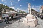 Mercato di piazza Amendola a Cosenza verso il definitivo trasloco