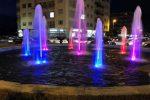 Giornata Internazionale della Pace, a Crotone riattivata la fontana di via XXV Aprile