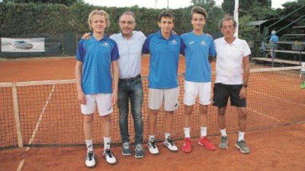Final Eight dei campionati italiani a squadre under 16 maschili, tennis messina, Messina, Sicilia, Sport