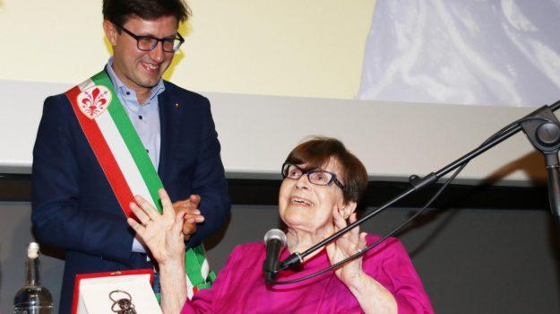 festival Eredità delle donne, intervista Valeri, Teatro della Compagnia, Dario Nardella, Franca Valeri, Sicilia, Cultura