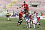 Genny Russo in azione contro il Bari