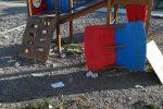 Reggio, vandalizzata l'area giochi di Pellaro