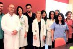 L'equipe del Policlinico di Messina impegnata nell'Open Day