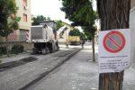 Reggio Calabria, manto stradale da rifare: le immagini da via Enotria