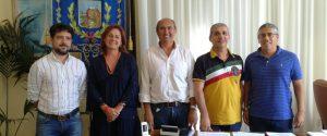 Da sinistra: Paterniti, La Rosa, Ingrillì, Leggio, Gierotto