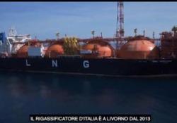 A 22 chilometri dalla costa di Livorno, il terminale galleggiante unico al mondo