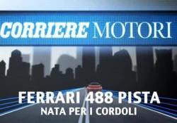 A Fiorano con la Ferrari 488 Pista