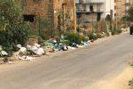 Discarica in via delle Egadi a Monserrato