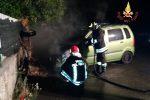 Brucia un'auto a Squillace, indagini in corso