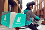 Una consegna di Deliveroo