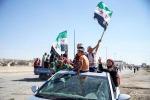 Proteste a Idlib contro il regime siriano