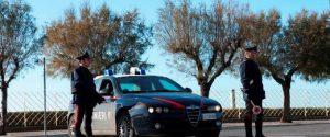 Carabinieri sul lungomare di Brolo