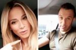 Diletta Leotta e il siparietto con Alex Del Piero: «Chi guida? Io o lui?»