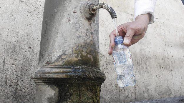 batteri acqua fontane reggio, Reggio, Calabria, Cronaca