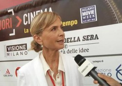 La regista all'evento a City Life a Milano