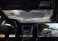 Le immagini del primato della nuovissima Aventador SVJ sulla mitica pista tedesca