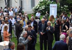 Il party con Urbano Cairo, presidente Rcs MediaGroup, e Luciano Fontana, direttore del «Corriere della Sera»