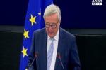 """Juncker: """"L'Europa resti tollerante"""""""