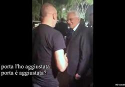 Il conduttore di «Propaganda Live» mostra la scenetta e la battuta del presidente della Repubblica