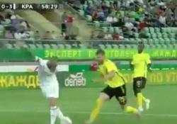 Il centrocampista del Krasnodar protagonista