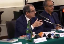 Il ministro dell'Economia a Napoli per un convegno sul Mediterraneo